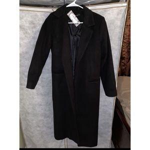 Medium Black Wool Coat